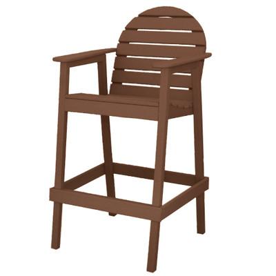 Huntington High Top Chair Brown