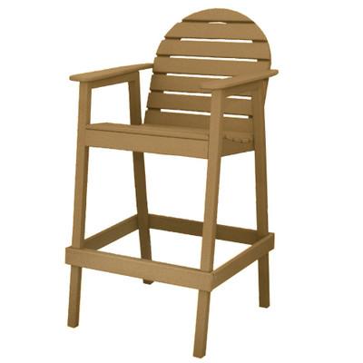 Huntington High Top Chair Driftwood