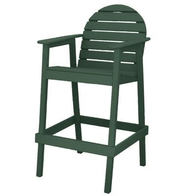 Huntington High Top Chair Green