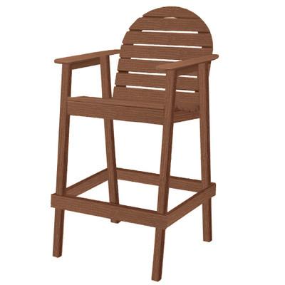 Huntington High Top Chair Walnut
