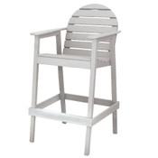 Huntington High Top Chair White
