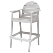 Huntington High Top Chair White