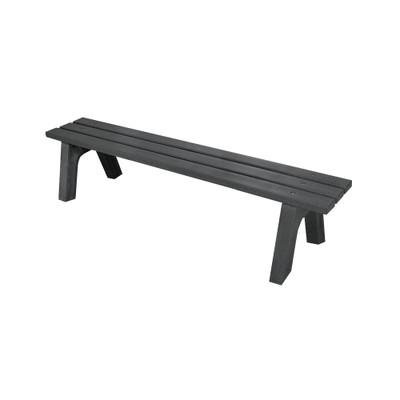 Mall Bench 4' Black