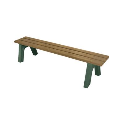 Mall Bench 4' Driftwood