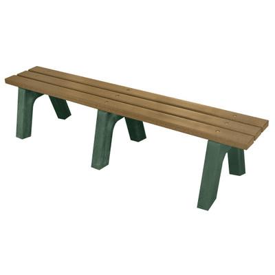 Mall Bench 6' Driftwood