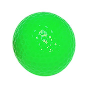 "Neon Green ""Floater"" Mini Golf Ball"