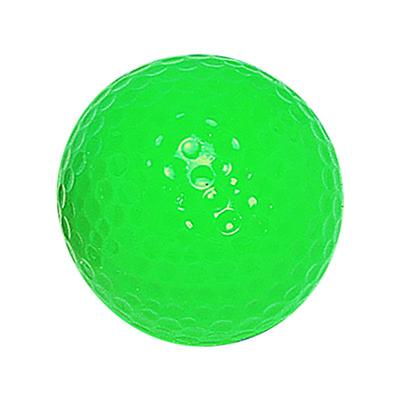 "Neon Green ""Floater"" Mini Golf Ball"