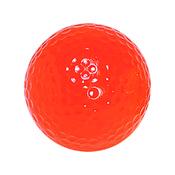 Neon Orange Mini Golf Balls