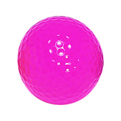 "Neon Pink ""Floater"" Mini Golf Balls"