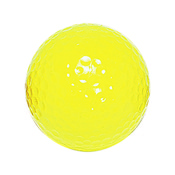 "Neon Yellow ""Floater"" Mini Golf Bal"