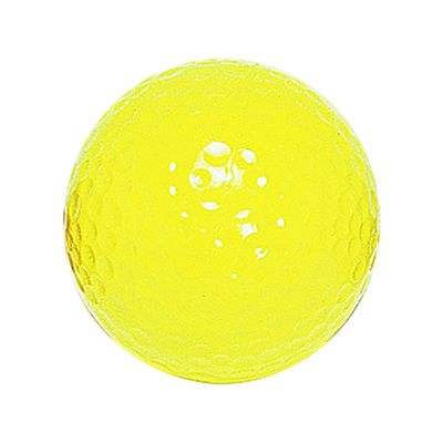 "Neon Yellow ""Floater"" Mini Golf Bal"