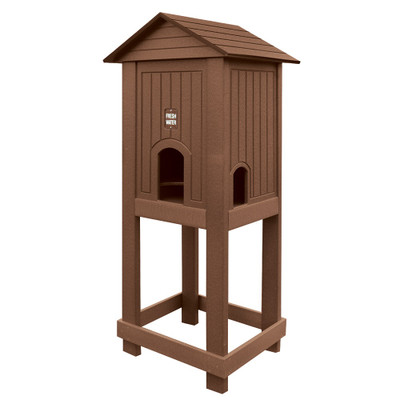 Open Base Water Station Brown