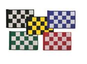 Plain Laser Cut Checkered Flags (14