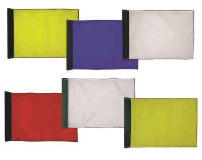 Plain Merrow Border Flags 14x20