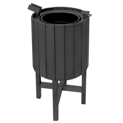 Recycled Club Washer Black
