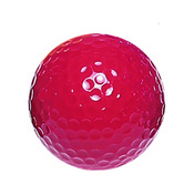 "Red ""Floater"" Mini Golf Balls"