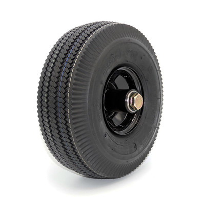 Small Front Wheel With Tire, Axle a