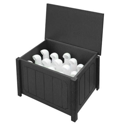 Small Divot Bottle Box Blacl
