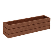 Small Recycled Plastic Planter Box