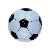 SOCCER NOVELTY GOLFBALL