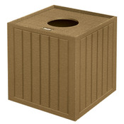 Square Pull-Top Trash ReceptacleDrt