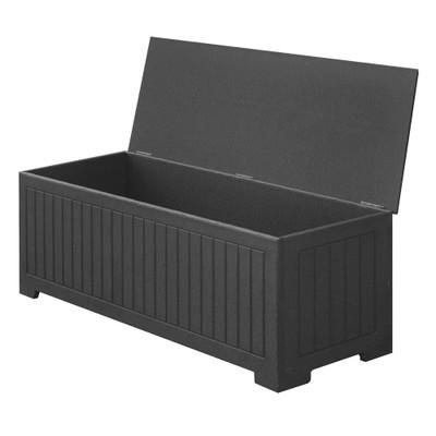 "Sydney 48"" Deck Box Black"