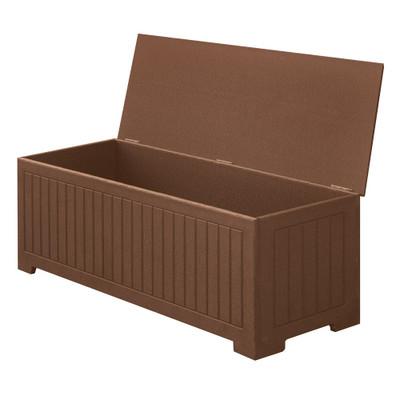 "Sydney 48"" Deck Box Brown"