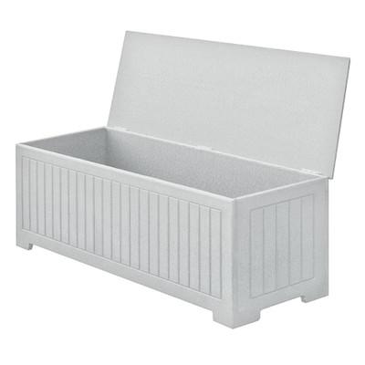 "Sydney 48"" Deck Box White"