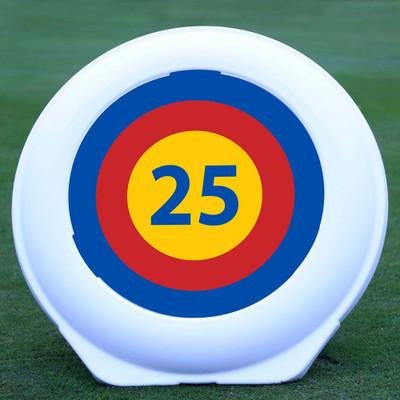 Golf Target 25 Yard Target