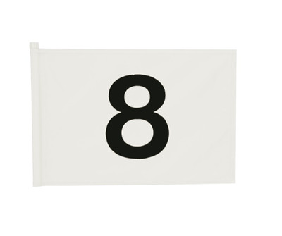 Applique Numbered Set of 9 Flags 8