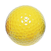 Yellow Mini Golf Balls